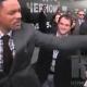 Will Smith gifle un reporter à Moscou