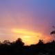 Coucher de soleil sur le Luberon