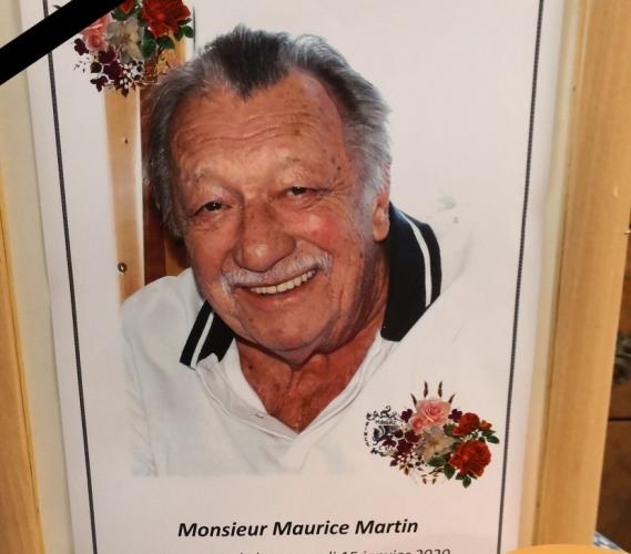 Maurice Martin, 1930-2020