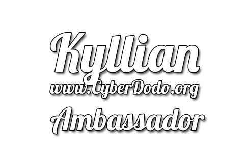 CyberDodo, le Défenseur de la Vie, et toute son équipe sont aussi fiers qu'enchantés d'accueillir Kyllian pour diffuser ensemble notre message de respect et de préservation