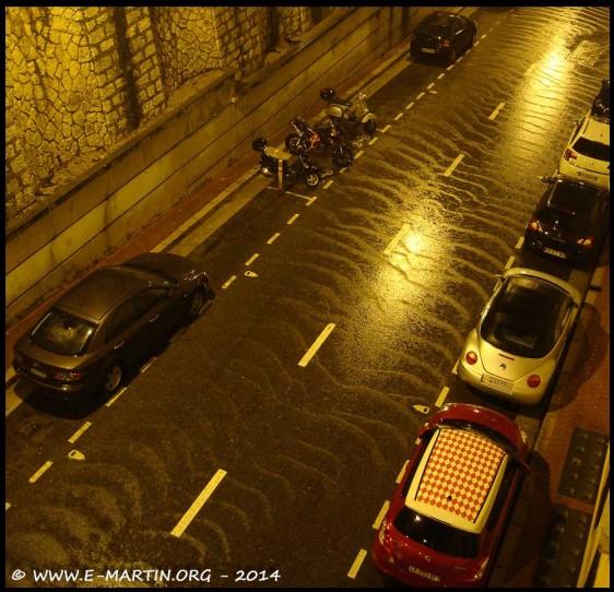 Déluge à Monaco