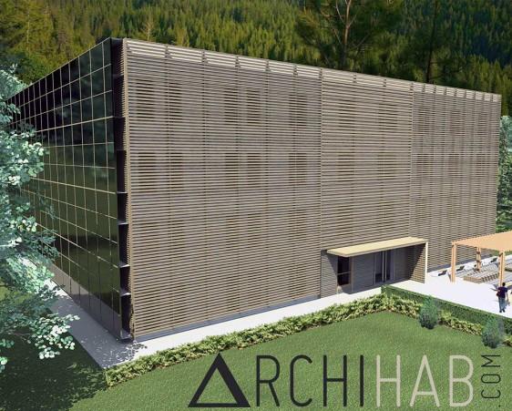 """""""Eco-village, concept développé par Archihab depuis 2011"""""""